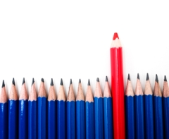 pencil_standing out
