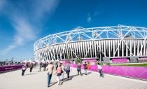 The Orbit and Olympic Stadium