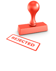 Why do applications get rejected?