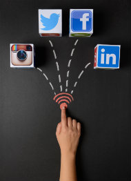 The impact of social media in your job search: a student perspective