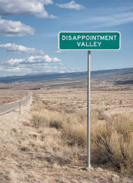 How to answer 'What has been your biggest disappointment?'