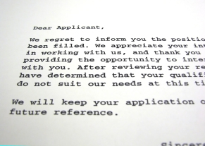 Resume Rejection Letter